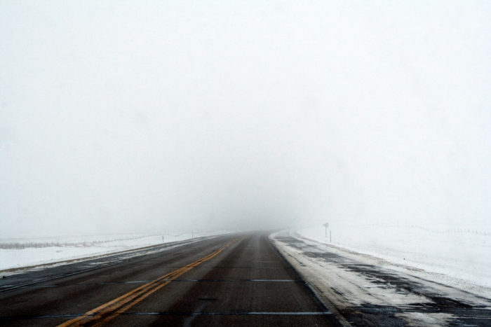Plus, more precipitation, in any form, and colder temps mean we can expect harsher road conditions...
