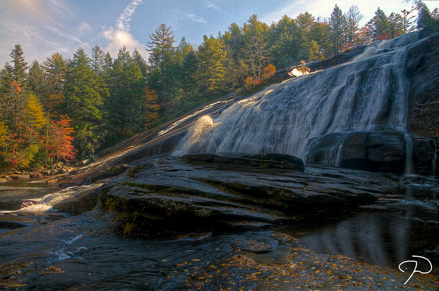 9. Dupont Waterfalls Tour, Dupont State Forest