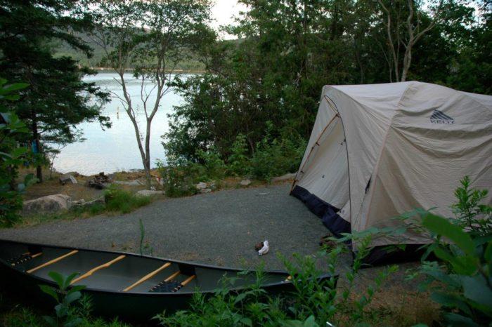 3. Somes Sound View Campground, Hall Quarry
