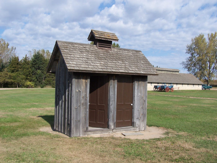 2. Ask us what it's like to not have indoor plumbing.