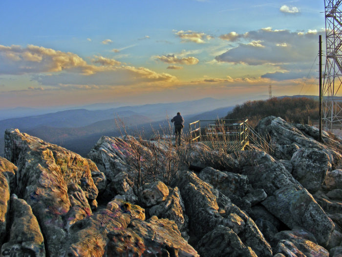 2. Dan's Rock Overlook