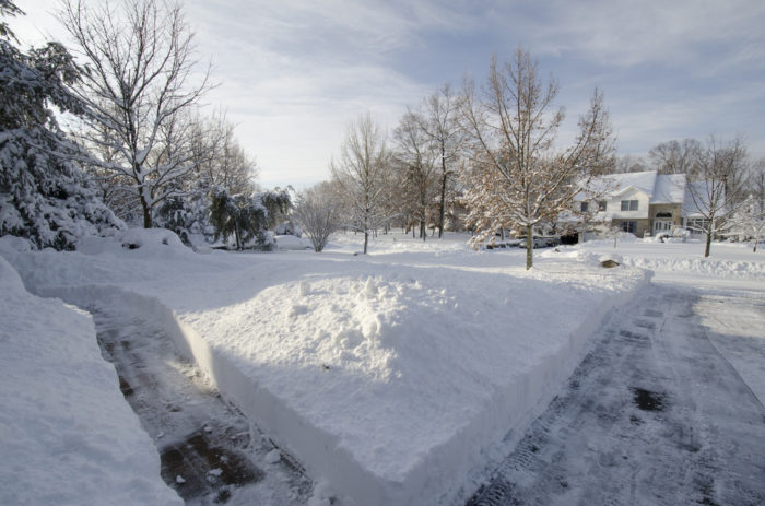 We'll also have more snow this year. Get ready to dig out!