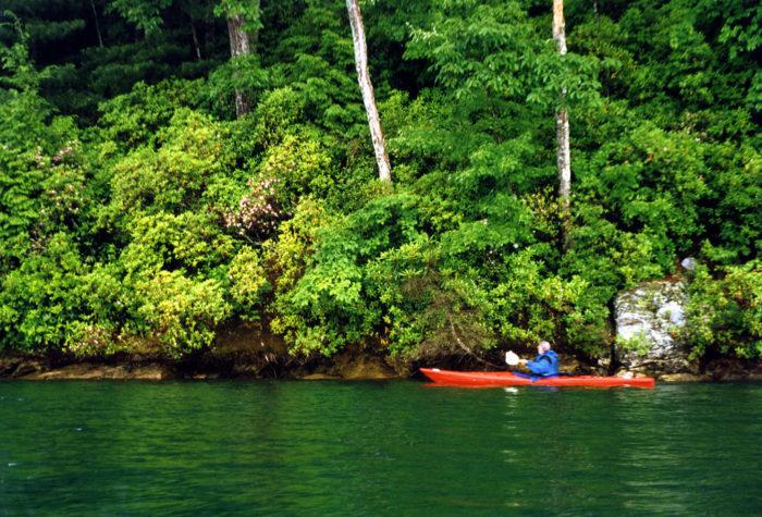 2. Lake Jocassee