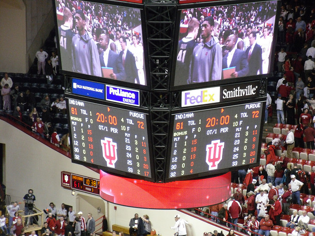 7. You've ended friendships over IU vs Purdue battles...