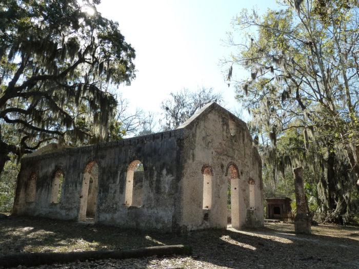 12. Chapel of Ease ruins