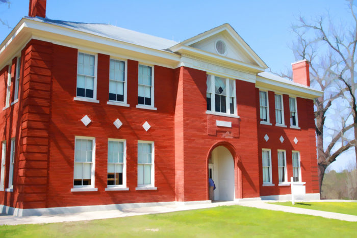 The 1914 Schoolhouse is a group facility that is available to rent for events.
