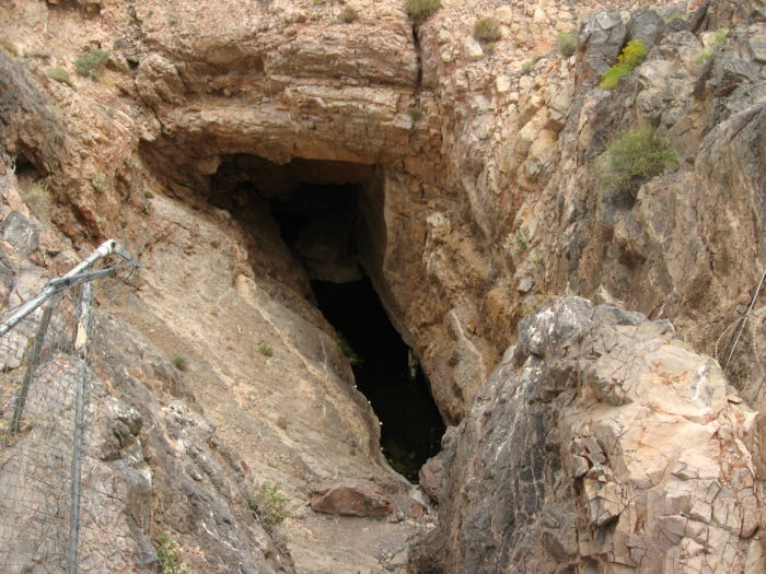 Another disturbing bit of information surrounding Devils Hole? How about the fact that for a brief moment in time, Charles Manson was convinced that this place was the gateway to an underworld.