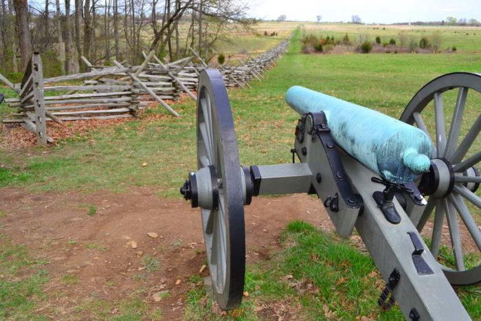 6. Gettysburg National Military Park, Gettysburg