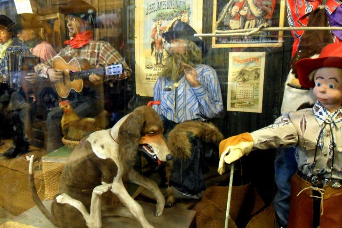 7. A lot of features at Wall Drug are unusual, sometimes borderline nightmare fuel.