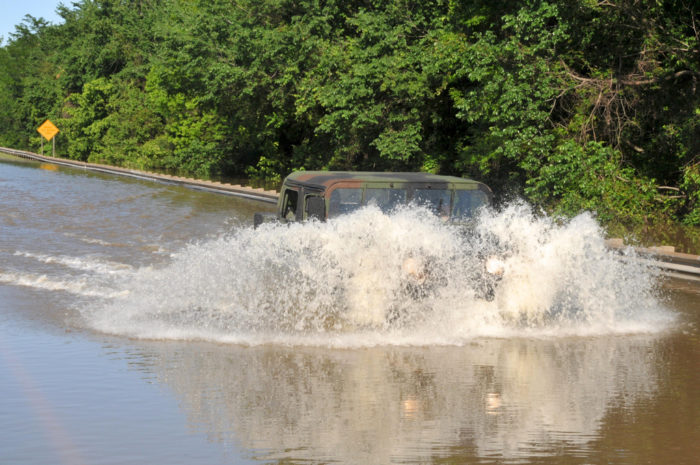 """3. You've had personal experience with the term """"if the creek don't rise."""""""
