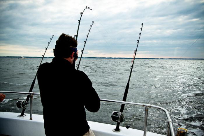 8. Go deep sea fishing in the Chesapeake Bay.