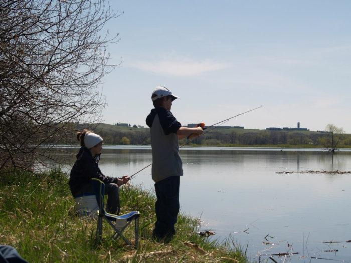 10. Go fishing on one of the lakes or rivers. There's plenty to visit and always plenty of fish.