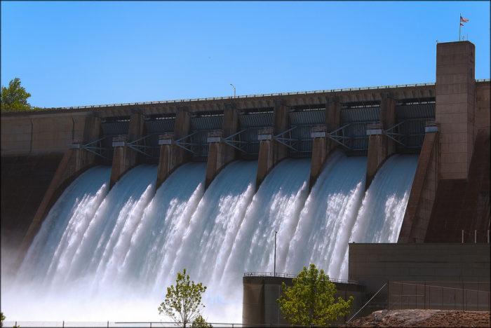 1. Beaver Dam (Beaver Lake)