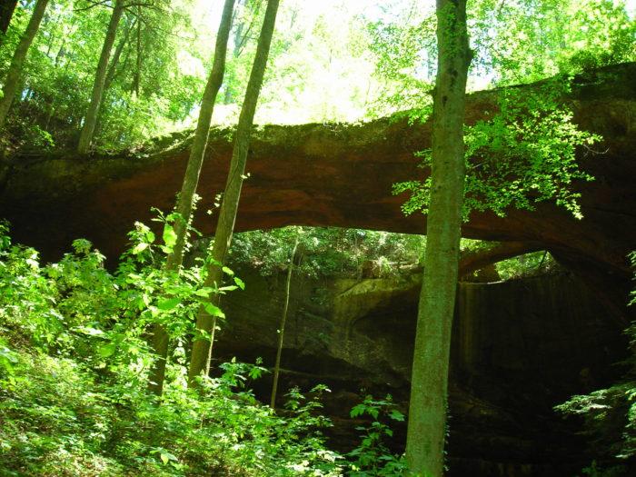 4. Natural Bridge - Natural Bridge, AL