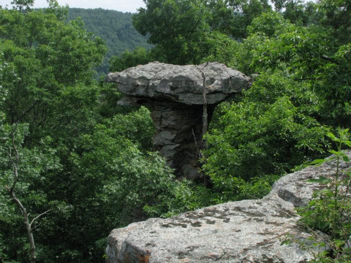 5. Pedestal Rock Scenic Area
