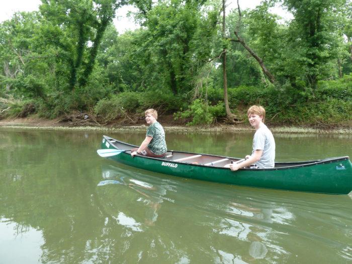 4. Take a canoe down the Harpeth.