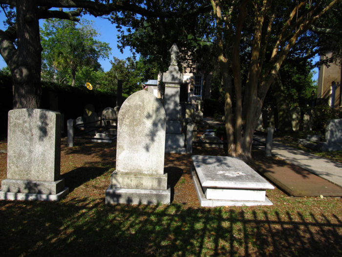 8. The graveyard at St. Philips Church in Charleston