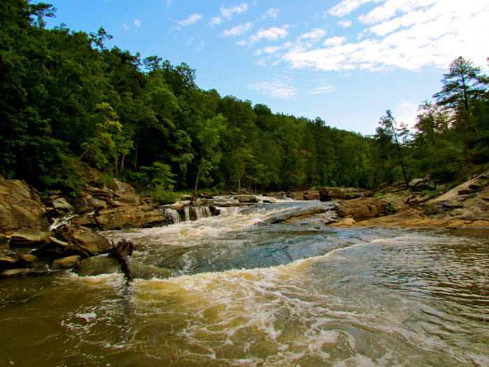 11. Sweetwater Creek State Park, Yellow Trail—3 mile loop