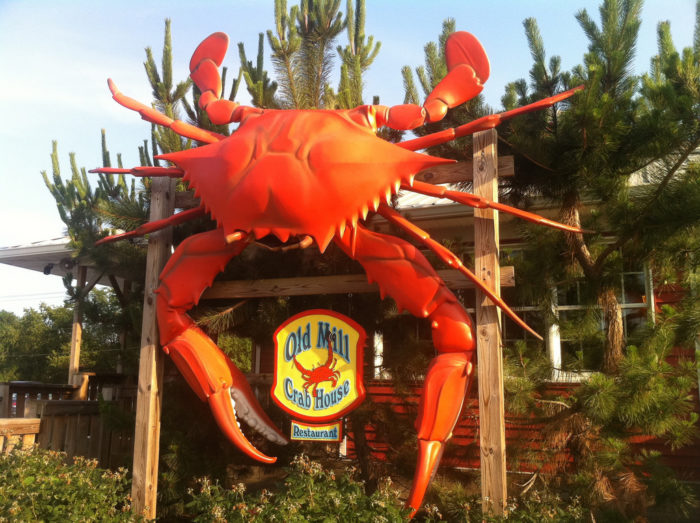 2. The Old Mill Crab