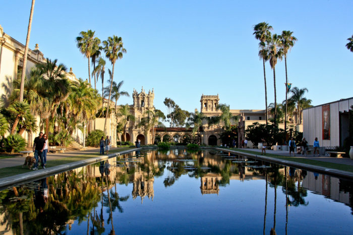 5. Home to Balboa Park -- a 1200-acre urban cultural park. San Diegans may be a laid back bunch, but they sure know how to take art and culture seriously.