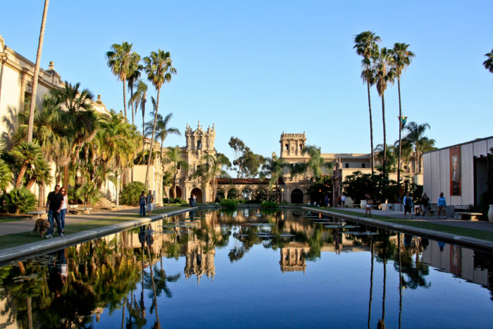 1. This urban park in San Diego is one of the city's top destinations. You could spend an entire weekend at Balboa Park and still have more to explore!