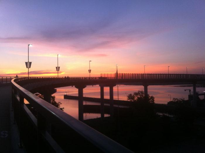 3. Big Dam Bridge (Arkansas River, Little Rock)
