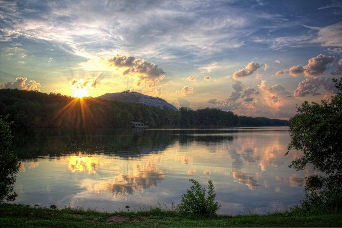 5. Stone Mountain Park—1000 Robert E Lee Blvd, Stone Mountain, GA 30083