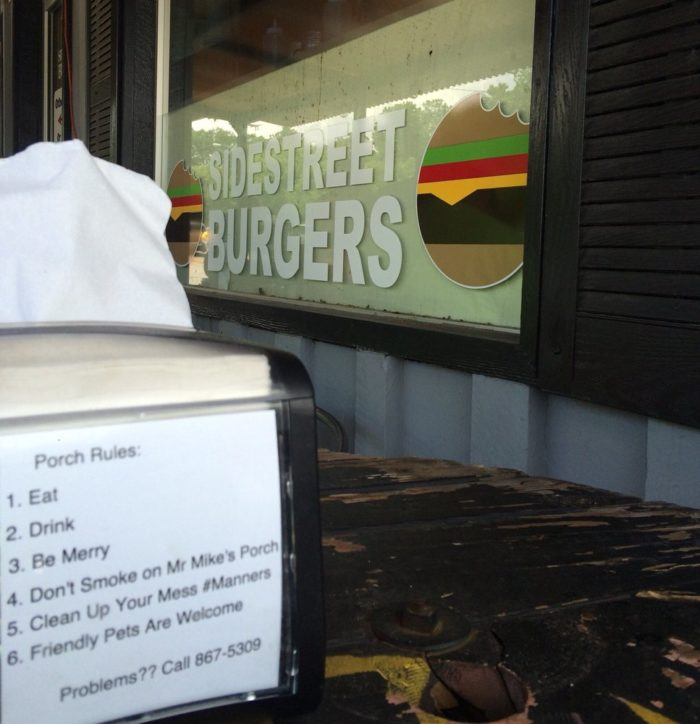 5. Side Street Burgers (9199 MS-178, Olive Branch)