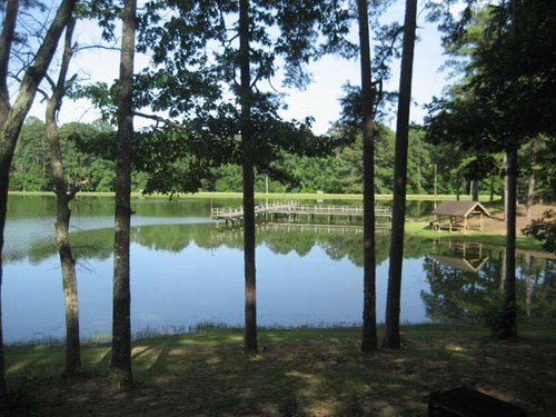 The secluded park is the perfect place to spend some time outdoors.