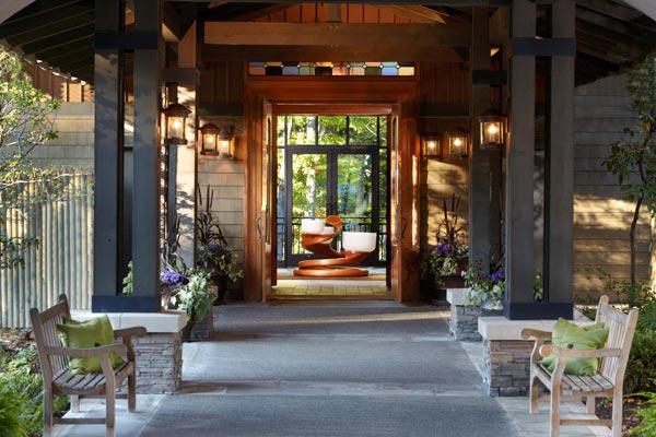6. The Lodge at Woodloch – Hawley
