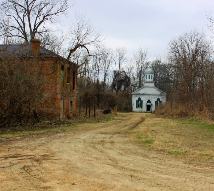6. Ghost Town of Rodney, Lorman