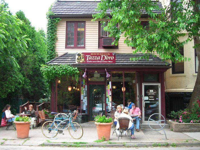 5.  Tazza D'oro Cafe & Espresso Bar - 1125 N Highland Avenue