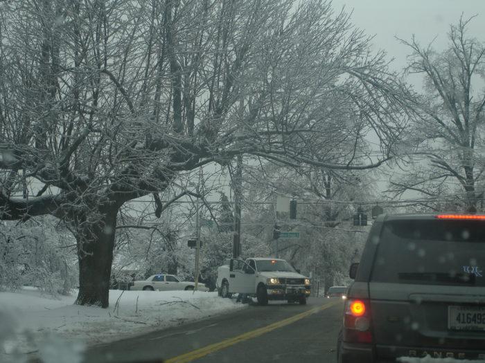 7. Snow slide