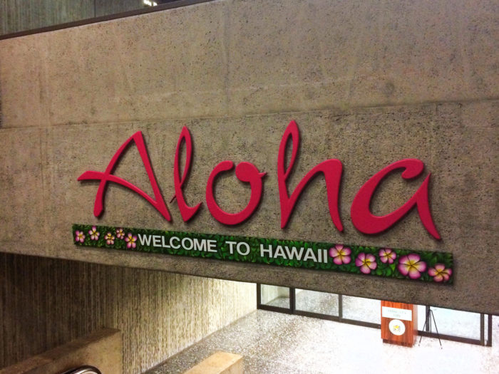 6. That Aloha means hello and goodbye.