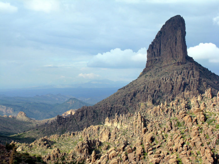 Weaver's Needle from Peralta Trail, AZ
