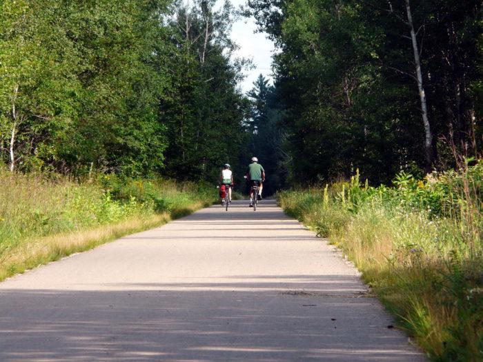 2. Paul Bunyan State Trail