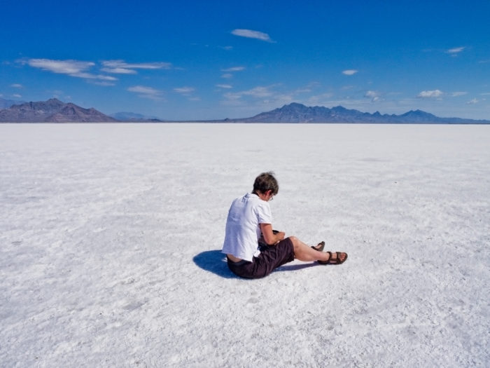 8. Bonneville Salt Flats