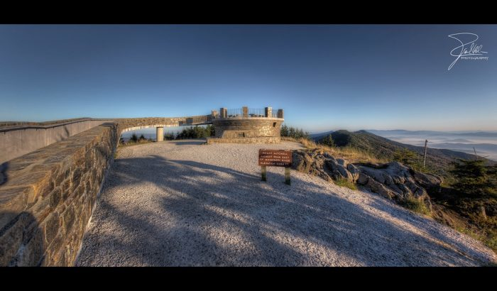 9. Witness some seriously amazing views from the highest peak east of the Mississippi, Mount Mitchell.