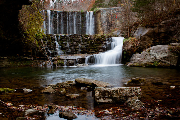 You won't find more picturesque falls anywhere.