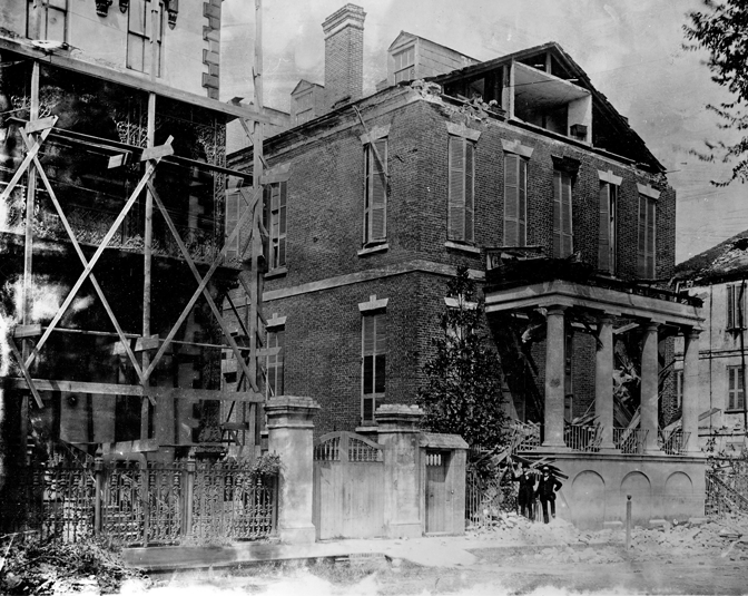 9. Charleston - August 31, 1886. Earthquake.