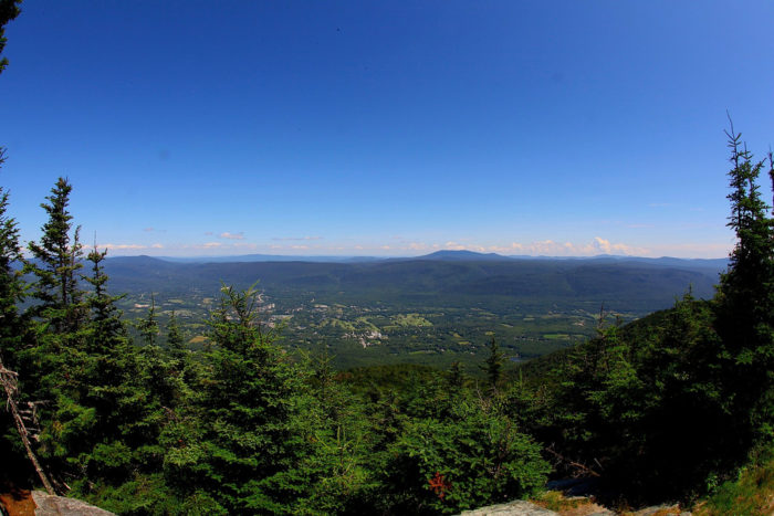 10.  Hike to the top of Mt. Equinox, Manchester.