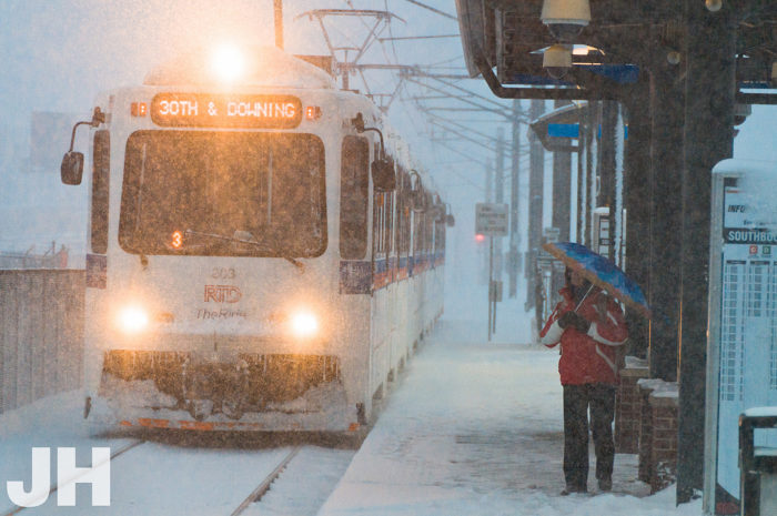 4. There's a blizzard out there, but you've still got to get to work on time.