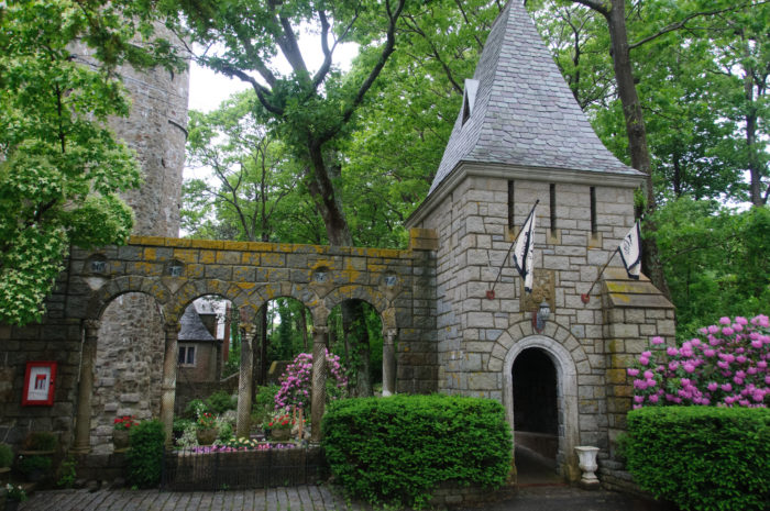 When you need a break from the harbor, go ahead and stop by beautiful Hammond Castle.