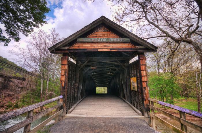 5. Humpback Covered Bridge (Covington)