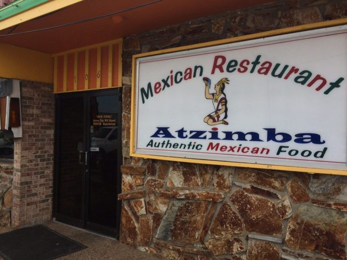 6. Atzimba Authentic Mexican Food, Clarksdale