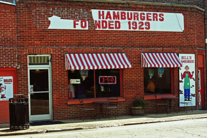 6. Bill's Hamburgers, Amory