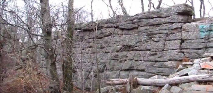 It wasn't until the state began construction of Gold Mine Road in the 1940s, however, that the rocks officially earned the moniker Boxcar Rocks for, some observed, the rocks looked like boxcars toppled over on top of each other.