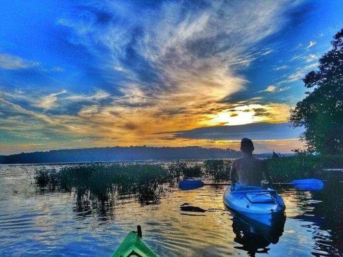 7-30 Sunrise Paddle - Badin Lake NC-4
