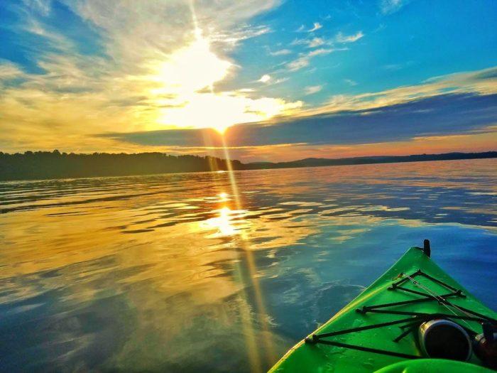 7-30 Sunrise Paddle - Badin Lake NC-6
