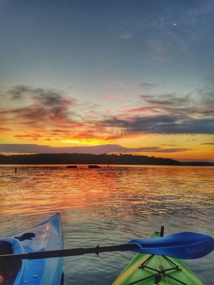 7-30 Sunrise Paddle - Badin Lake NC-9